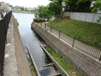 09.荒神川から武庫川を望む。